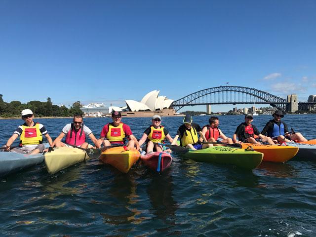 OzPaddle - Sydney Harbour Team Building