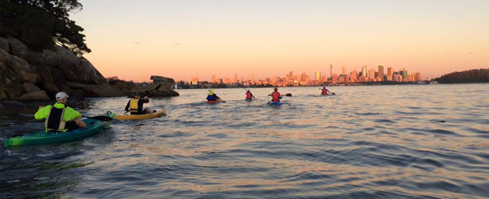 OzPaddle - Sydney Harbour Group Fitness