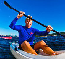 OzPAddle Rose Bay - Tommy Woodriff