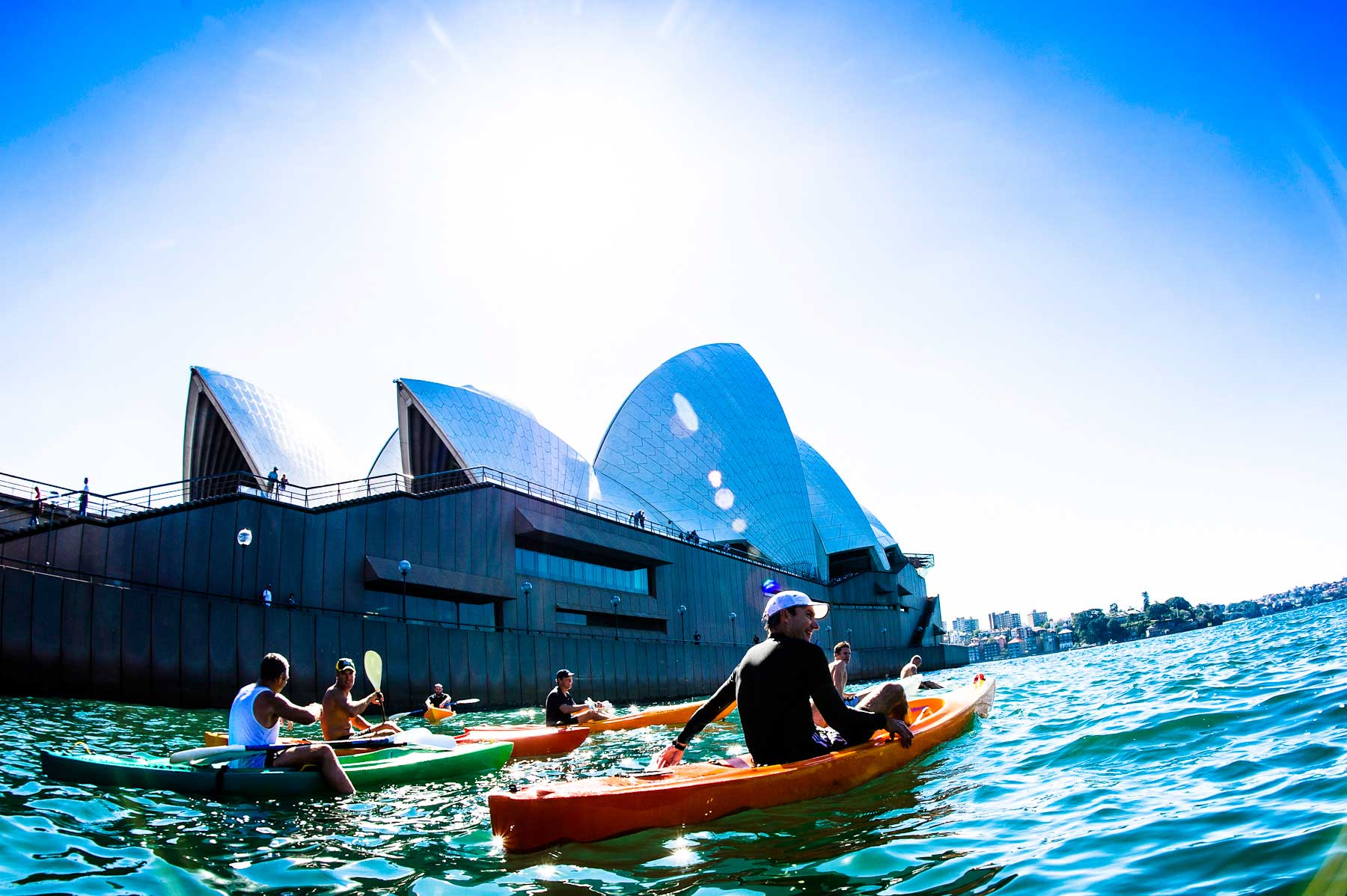 OzPaddle - Sydney Harbour Kayak Tours & Fitness