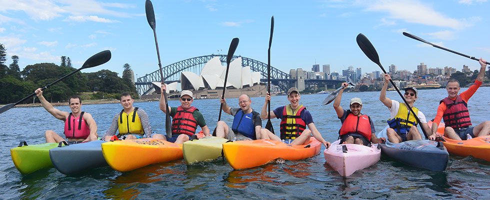 OzPaddle - Sydney Harbour Team Building