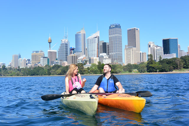 OzPaddle - Sydney Harbour Kayak Tours