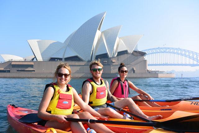OzPaddle - Sydney Harbour Kayak Tours